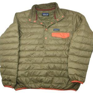 Patagonia Down Snap T Pullover Puffer Jacket 27246